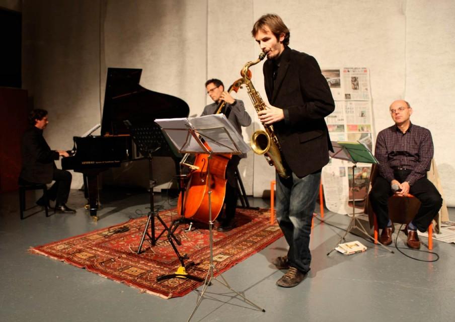 Tra giornalismo<br/> e musica… jazz