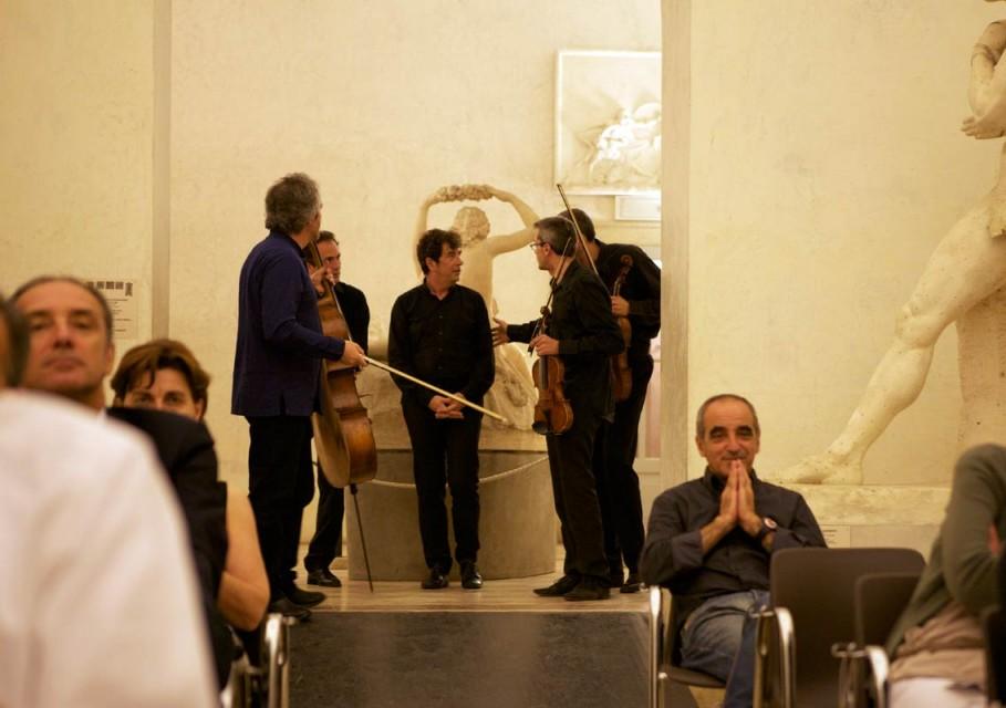 Canova e Schubert<br/> in Gipsoteca