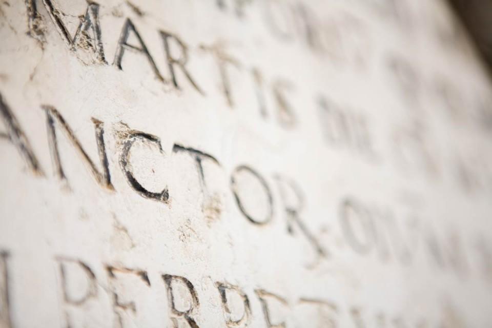 Una storia scritta<br/> sulla pietra…
