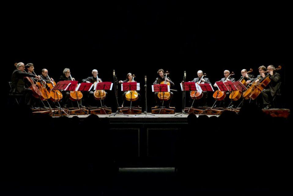 12 violoncelli un'orchestra